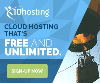 x10hosting free webhosting coupon