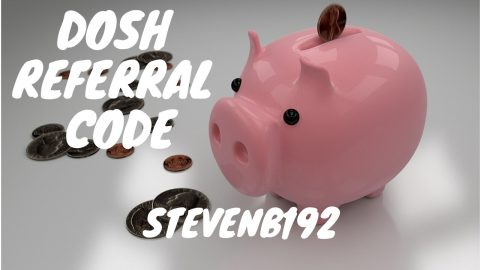 Dosh referral code STEVENB192